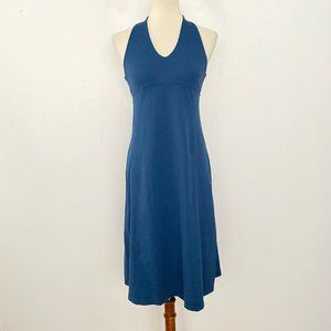 Patagonia Medium Halter Dress A Line Tie Back